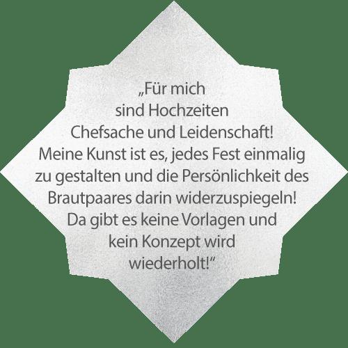 Hochzeitsplaner Köln Patricia Follesa Zitat