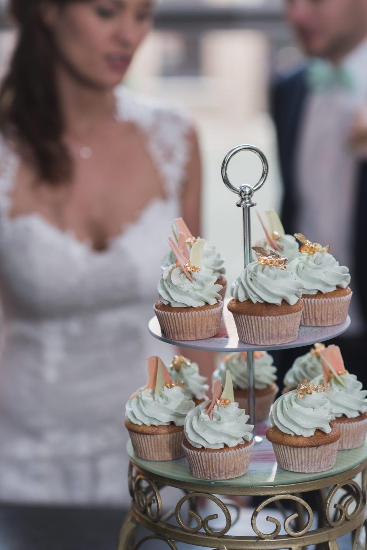 Brushstroke Hochzeit Etagerie