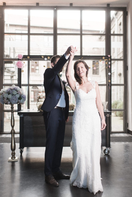 Brushstroke Hochzeit Tanz