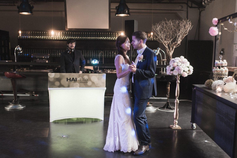 Brushstroke Hochzeit Hochzeitstanz DJ