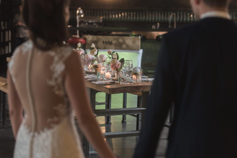 Brushstroke Hochzeit Feier