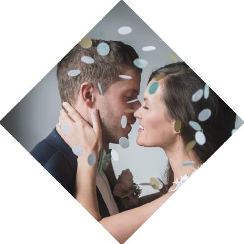 Galerie Brushstroke Hochzeit
